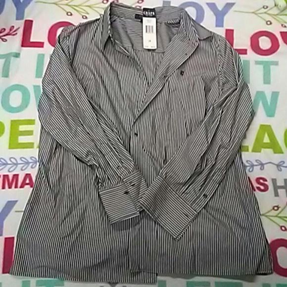 2747e4277f5 Womens Chaps Plus Size Dress Shirt